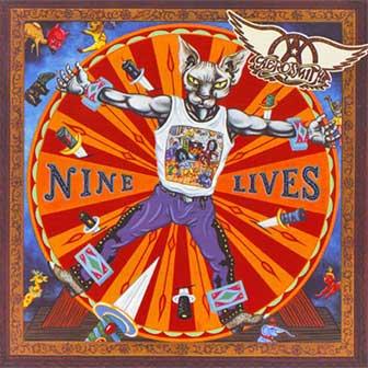 """Nine Lives"" album by Aerosmith"