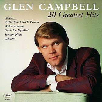 """20 Greatest Hits"" album by Glen Campbell"