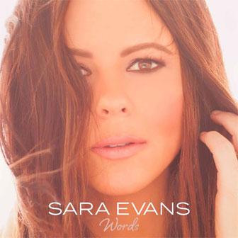 """Words"" album by Sara Evans"