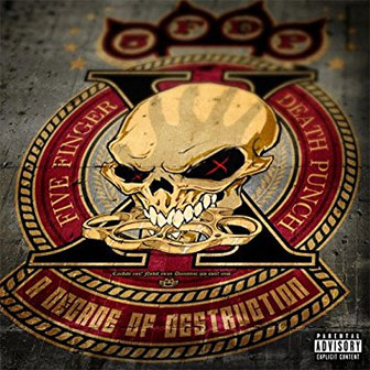 """Decade Of Destruction"" album by Five Finger Death Punch"