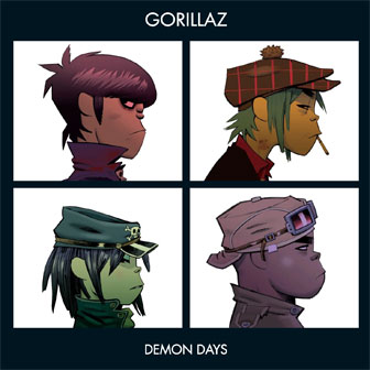 """Demon Days"" album by Gorillaz"