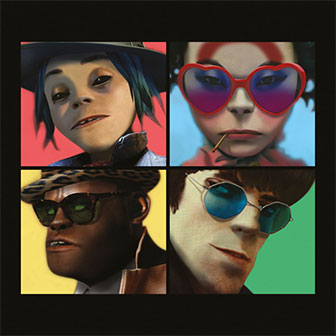 """Humanz"" album by Gorillaz"