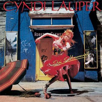 """She's So Unusual"" album by Cyndi Lauper"