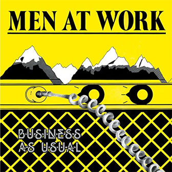 """Business As Usual"" album by Men At Work"
