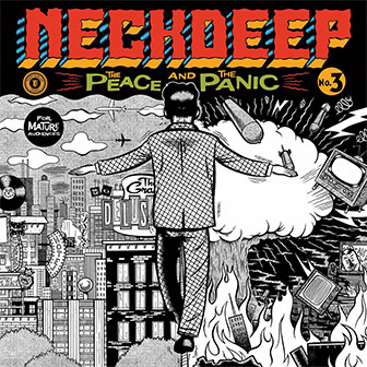 """The Peace And The Panic"" album by Neck Deep"