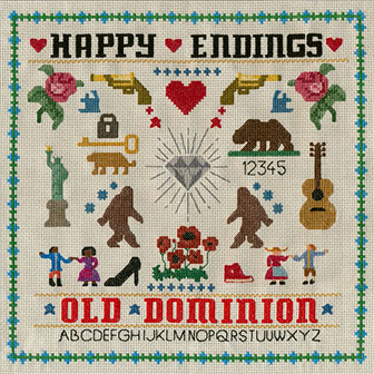 """Happy Endings"" album by Old Dominion"