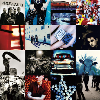 """Achtung Baby"" album by U2"