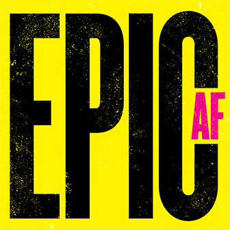 """Epic AF (Yellow/Pink)"" album by Various Artists"