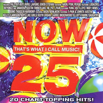 """NOW 25"" album by Various Artists"