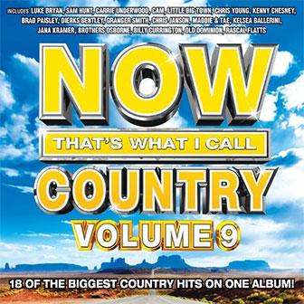 """NOW That's What I Call Country Volume 9"" album by Various Artists"