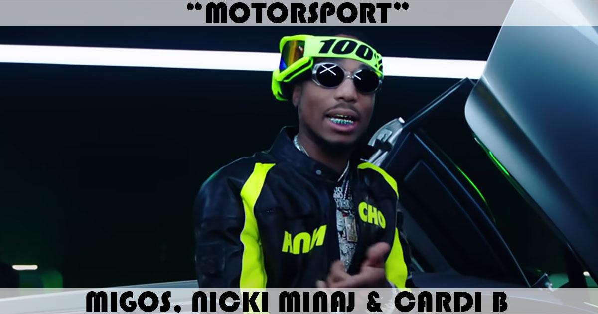 """""""MotorSport"""" Song by Migos, Nicki Minaj & Cardi B   Music ..."""